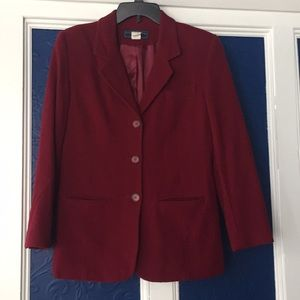Norton Mcnaughton 8.Merlot wine jacket blazer wool